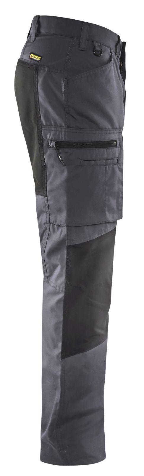 Blaklader Broeken 14591845 met Stretch midden grijs-zwart(9699)
