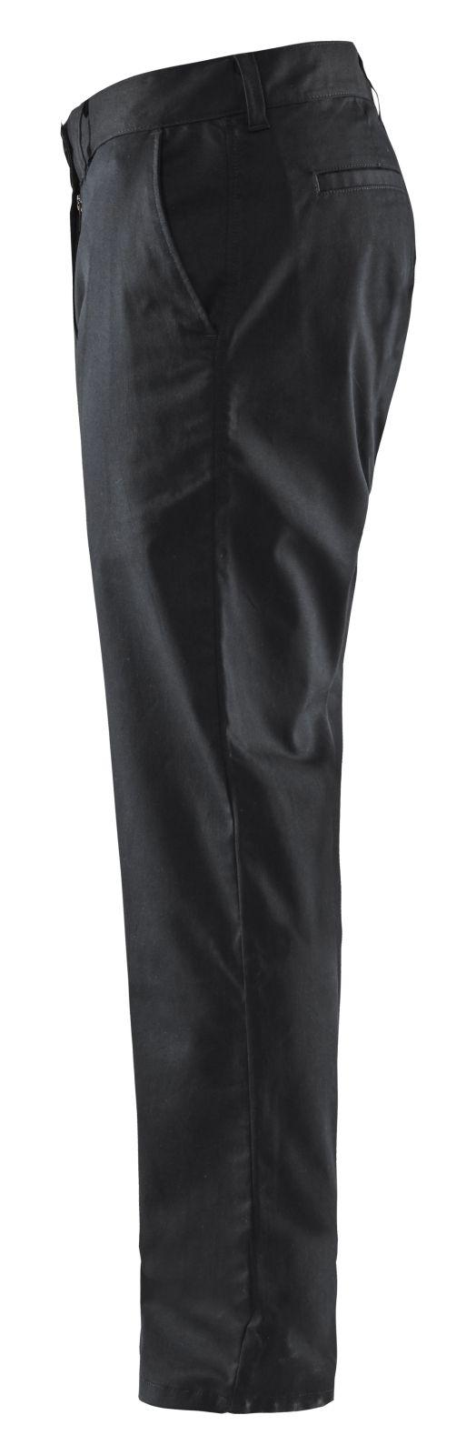 Blaklader Broeken 14651830 Chino Stretch zwart(9900)