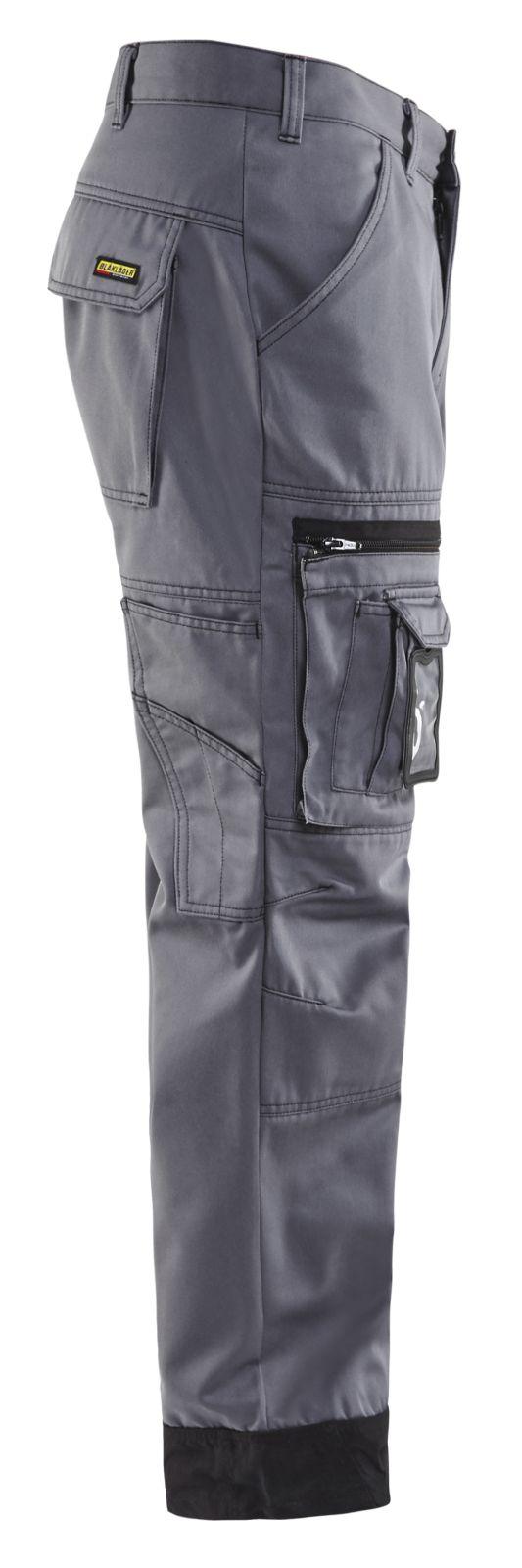 Blaklader Werkbroeken 14701860 grijs-zwart(9499)