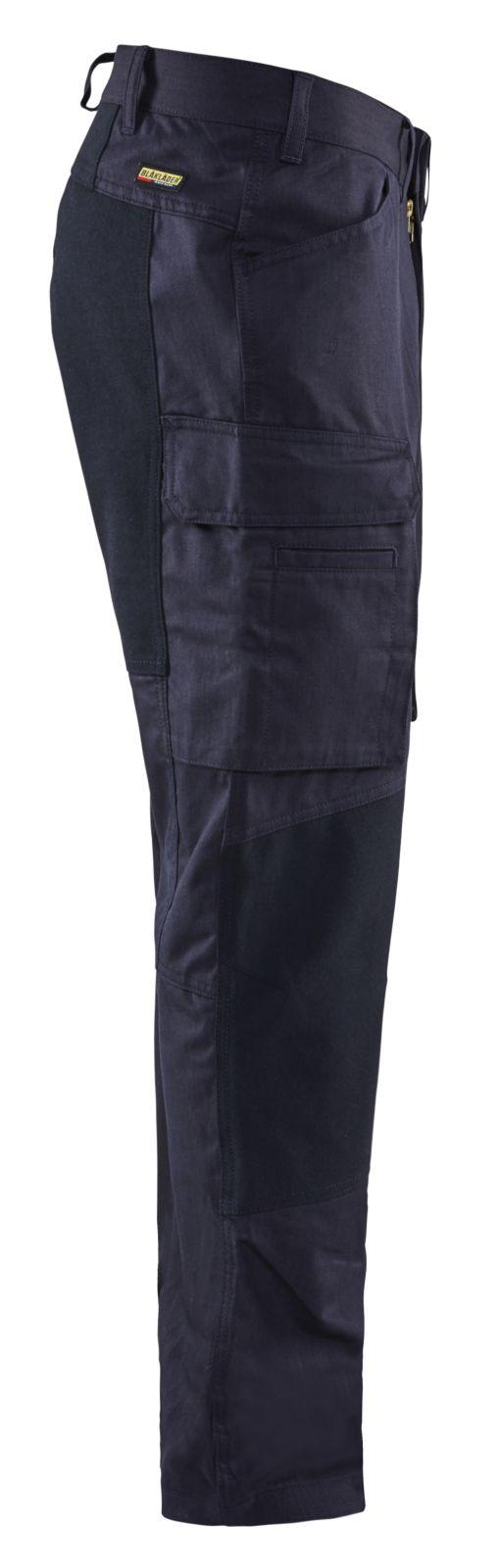 Blaklader Werkbroeken 14861512 met Stretch marineblauw(8900)