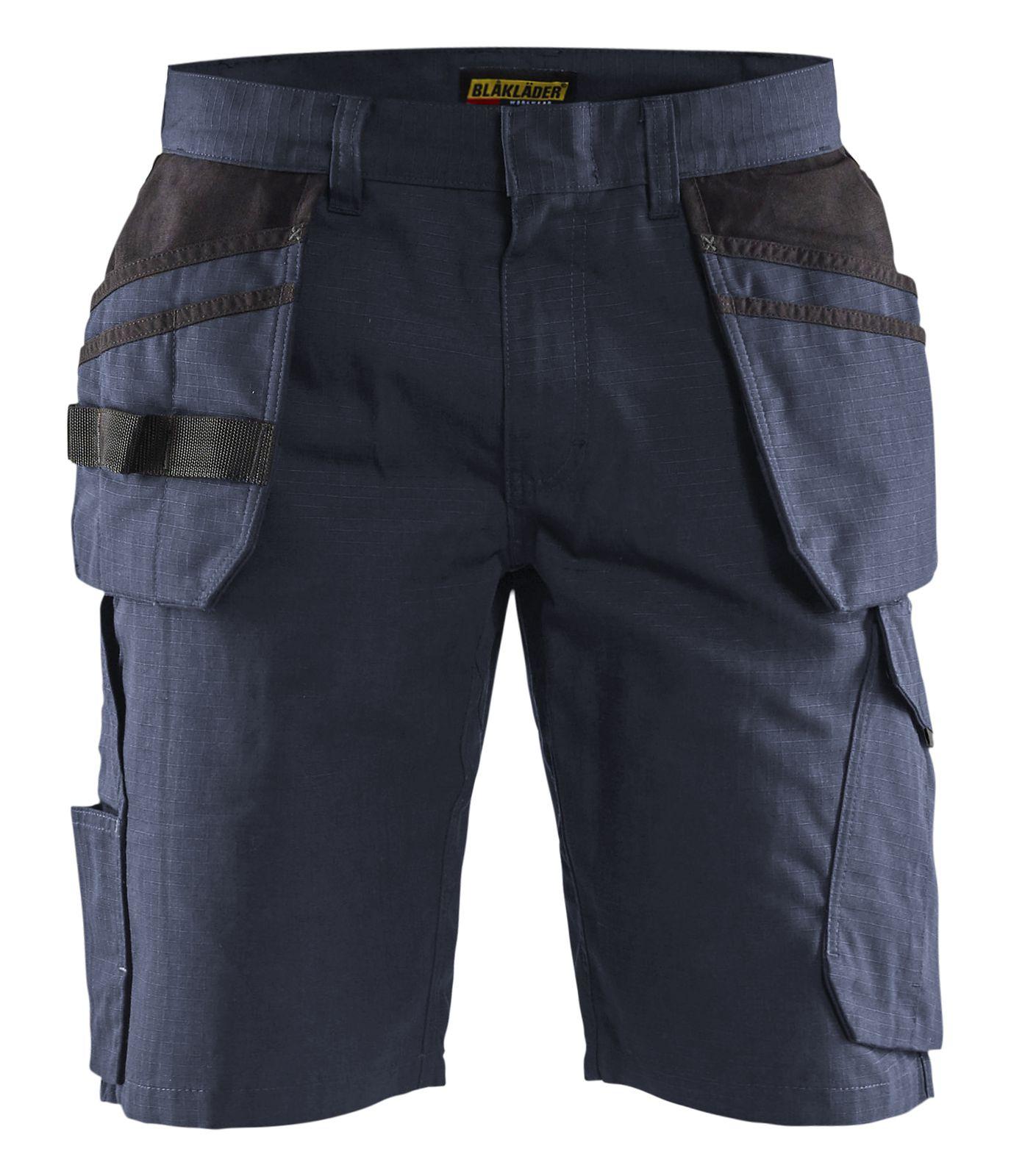 Blaklader Korte werkbroeken 14941330 donker marineblauw-zwart(8699)