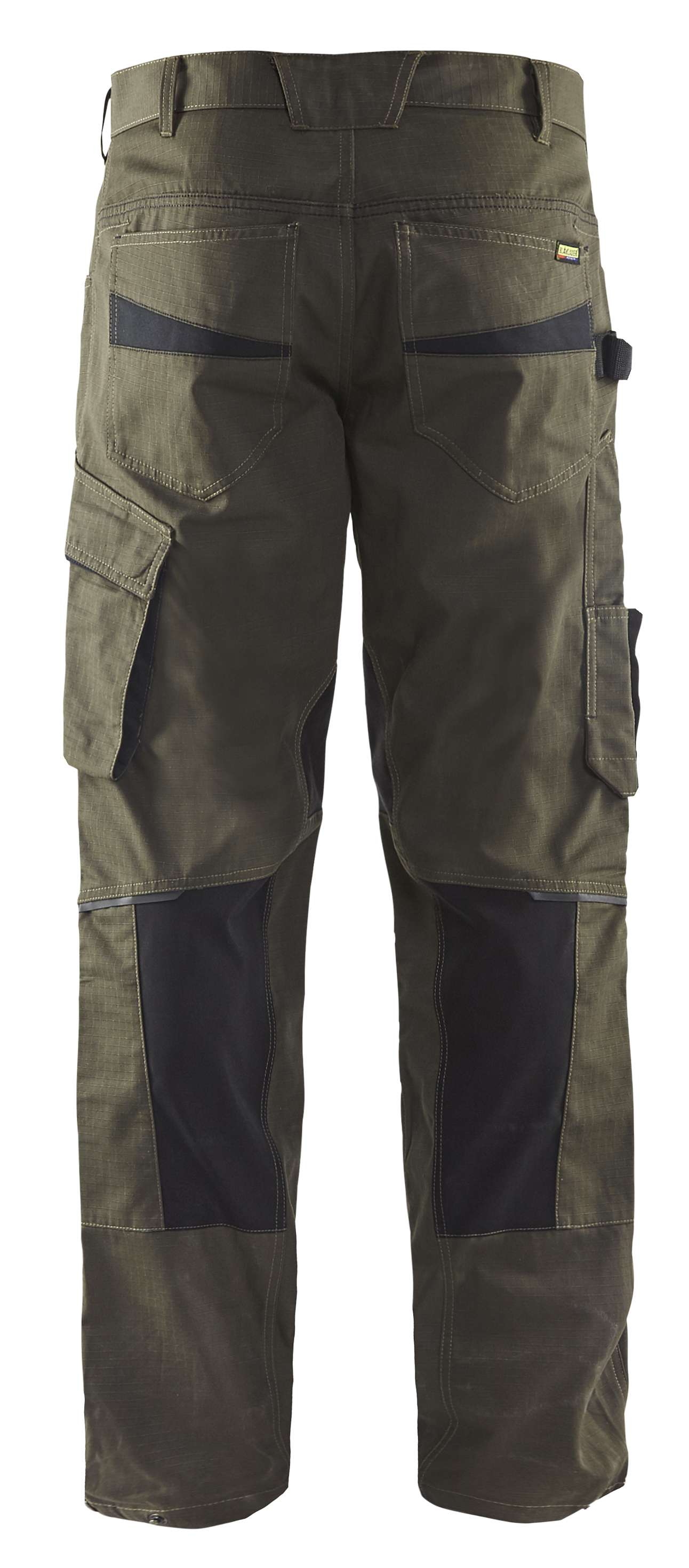 Blaklader Broeken 14951330 met Stretch groen-zwart(4599)