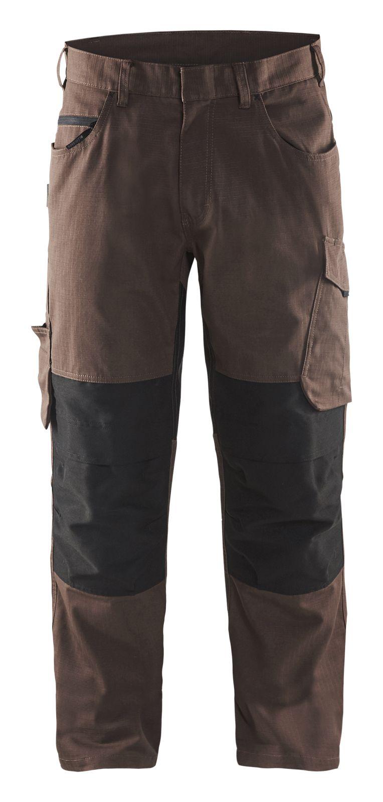 Blaklader Broeken 14951330 met Stretch bruin-zwart(7899)