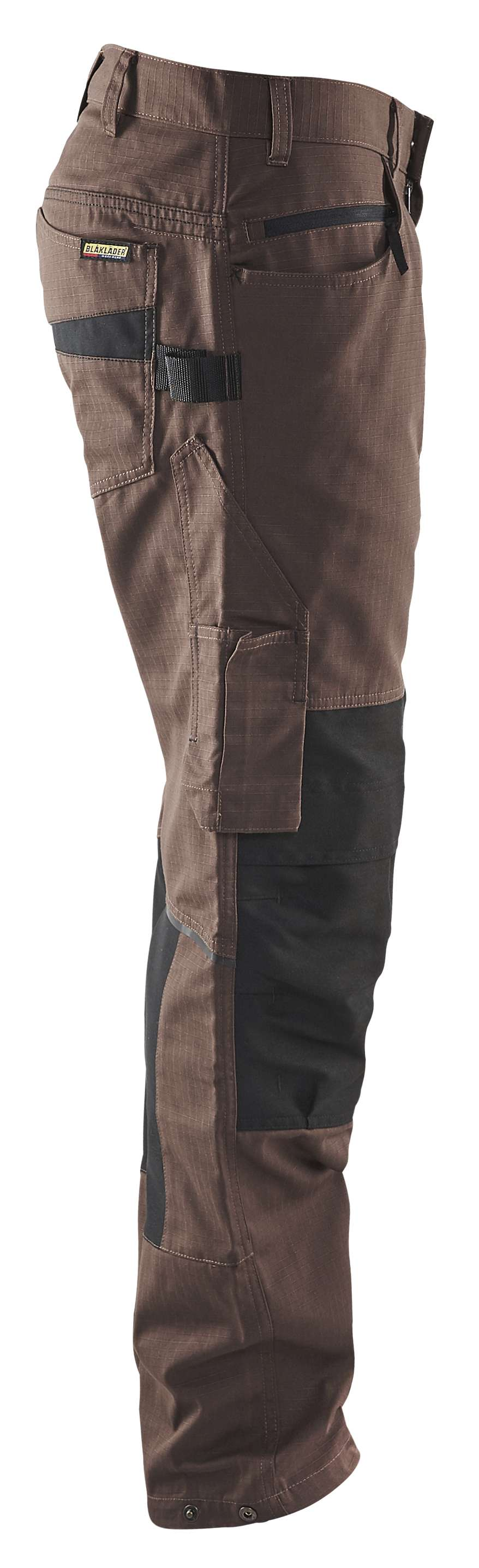 Blaklader Werkbroeken 14951330 met Stretch bruin-zwart(7899)