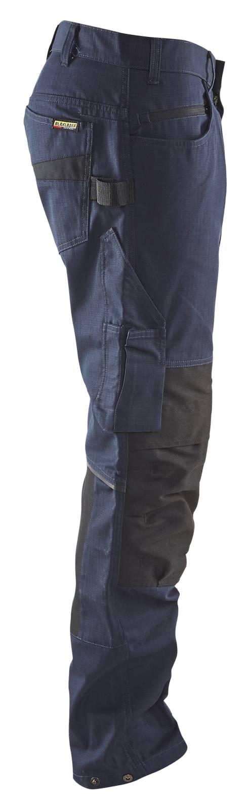 Blaklader Broeken 14951330 met Stretch donker marineblauw-zwart(8699)