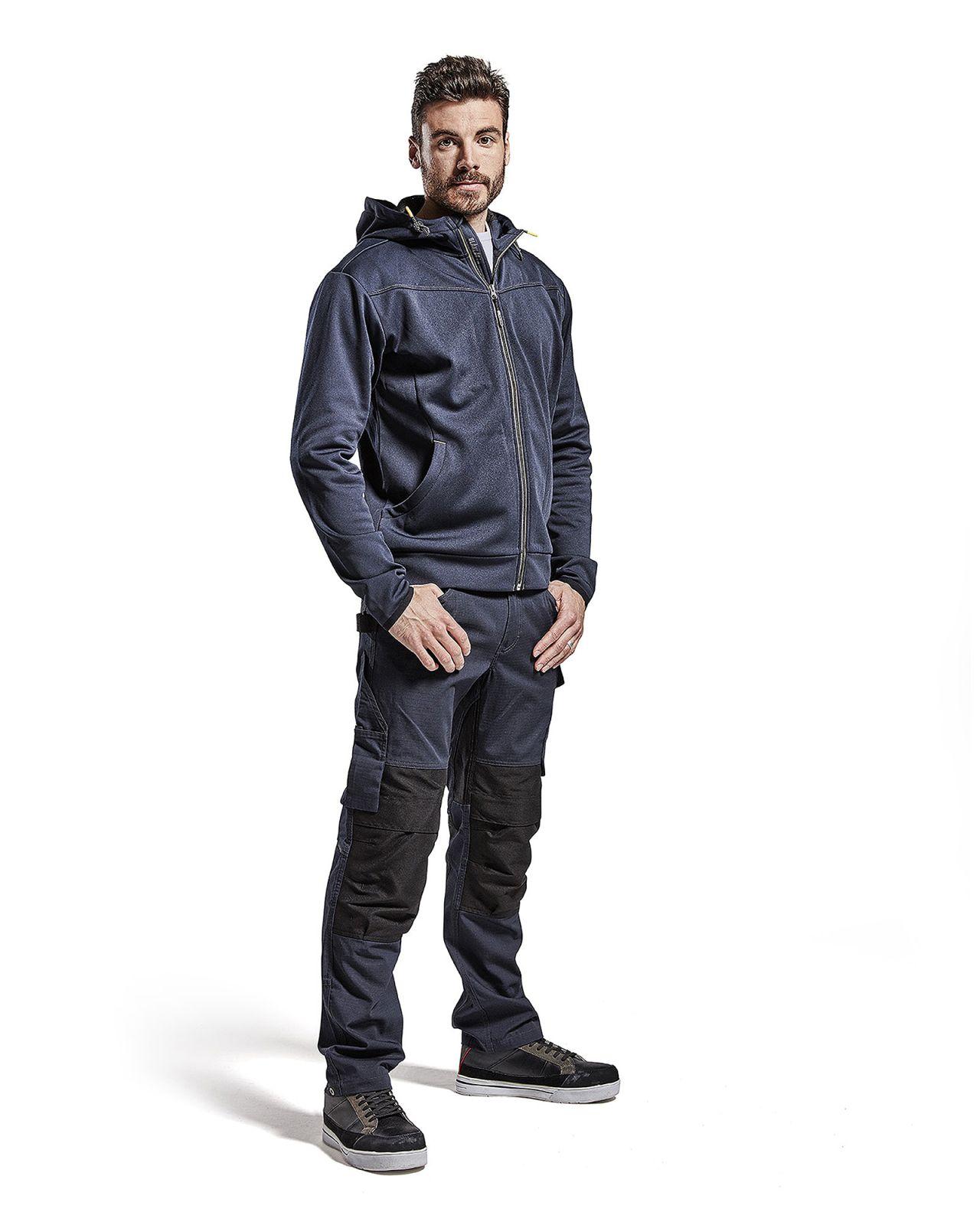 Blaklader Werkbroeken 14951330 met Stretch donker marineblauw-zwart(8699)