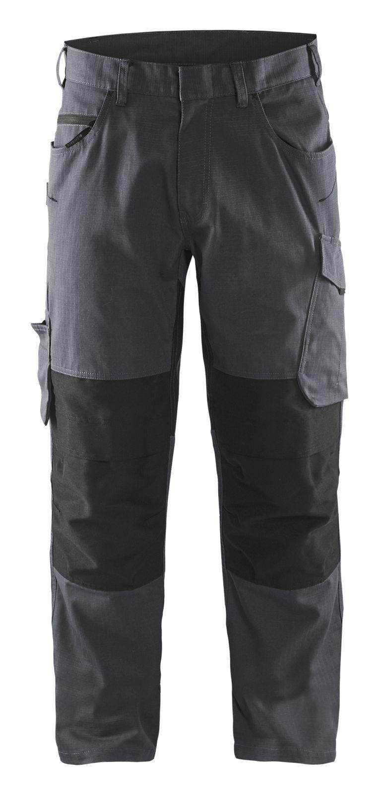Blaklader Broeken 14951330 met Stretch midden grijs-zwart(9699)