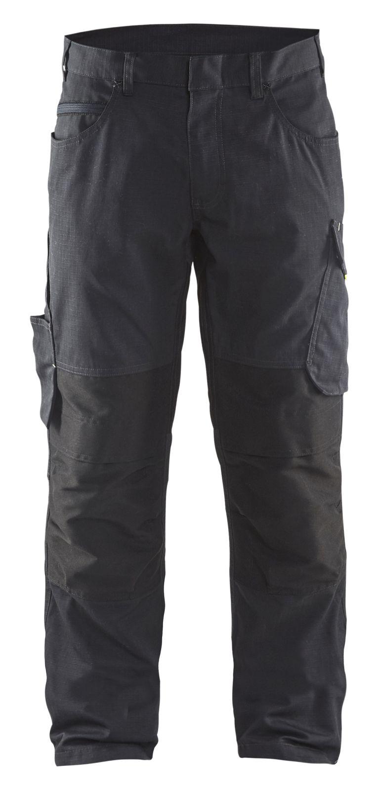 Blaklader Broeken 14951330 met Stretch zwart-grijs(9998)