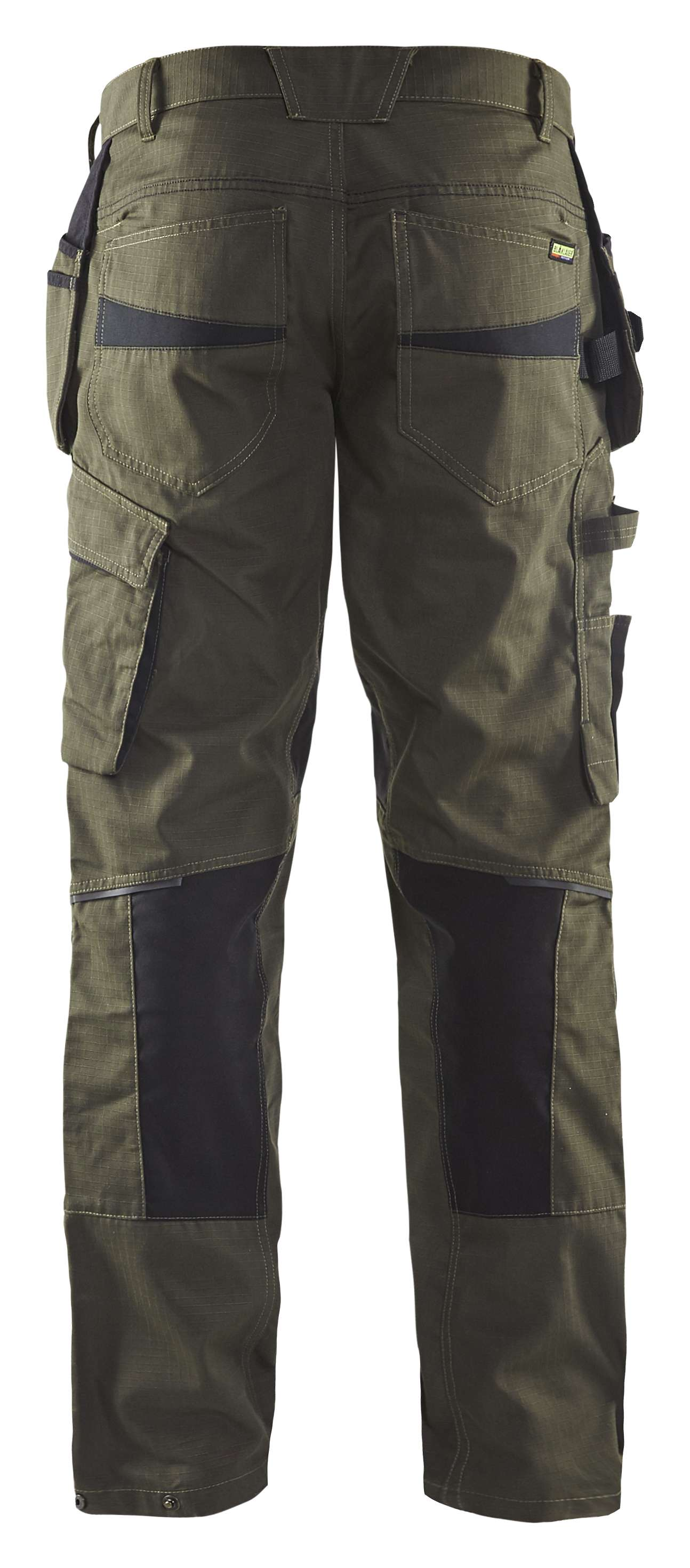Blaklader Broeken 14961330 met Stretch groen-zwart(4599)