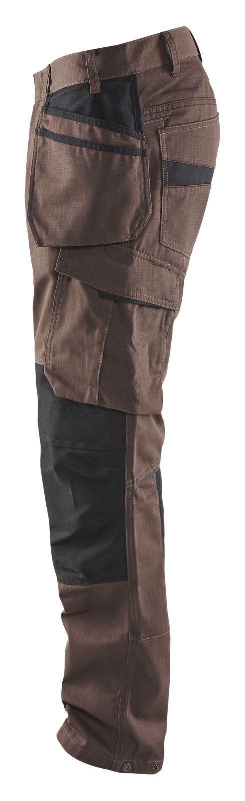 Blaklader Broeken 14961330 met Stretch bruin-zwart(7899)
