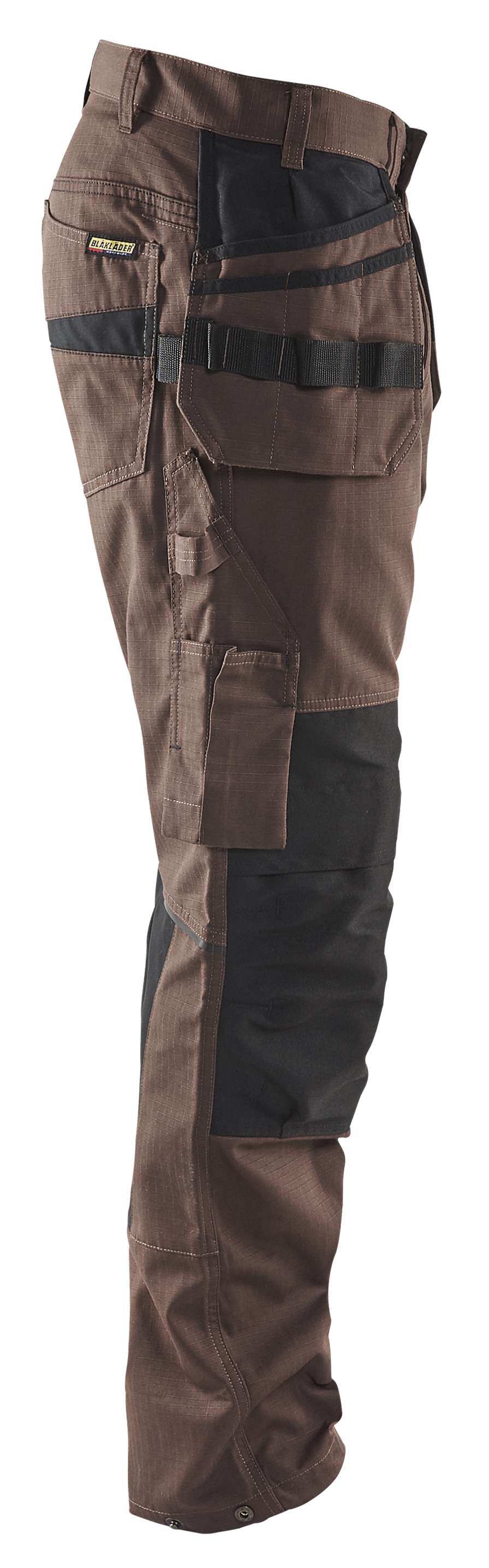 Blaklader Werkbroeken 14961330 met Stretch bruin-zwart(7899)