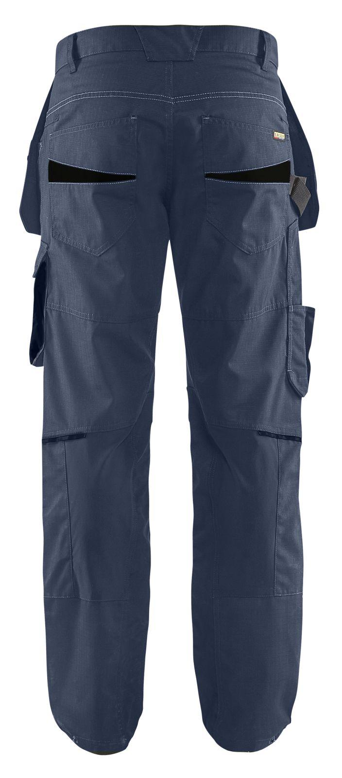 Blaklader Broeken 14961330 met Stretch donker marineblauw-zwart(8699)