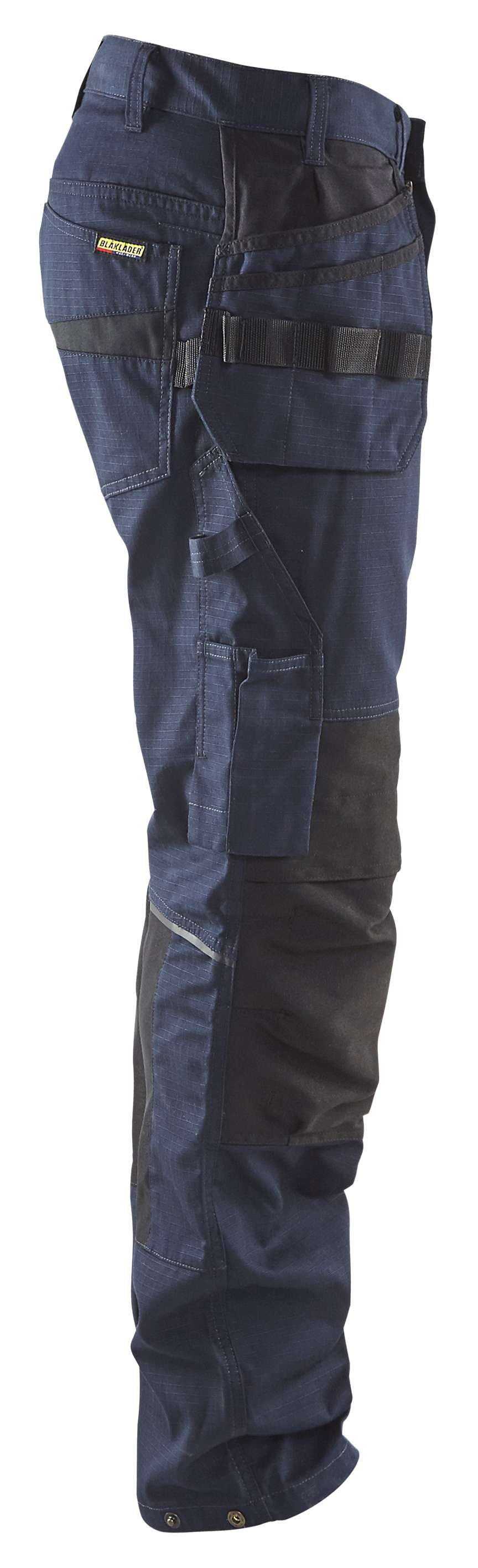 Blaklader Werkbroeken 14961330 met Stretch donker marineblauw-zwart(8699)