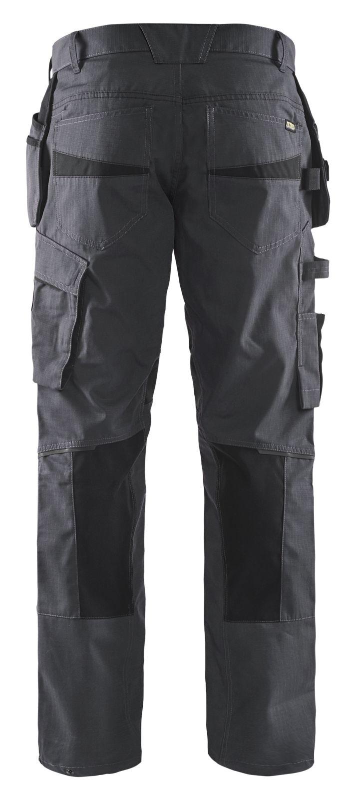 Blaklader Broeken 14961330 met Stretch midden grijs-zwart(9699)