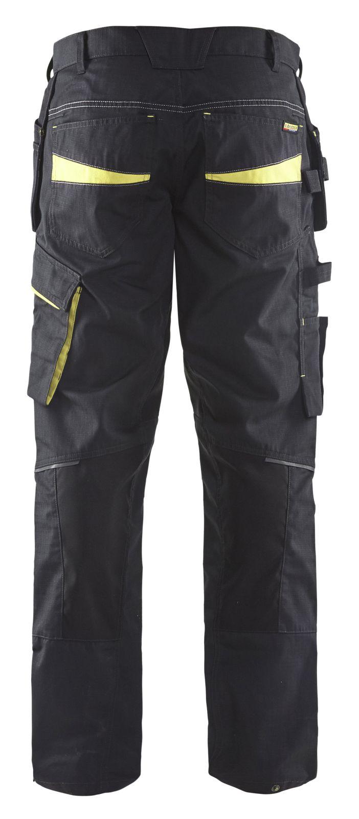 Blaklader Broeken 14961330 met Stretch zwart-geel(9933)