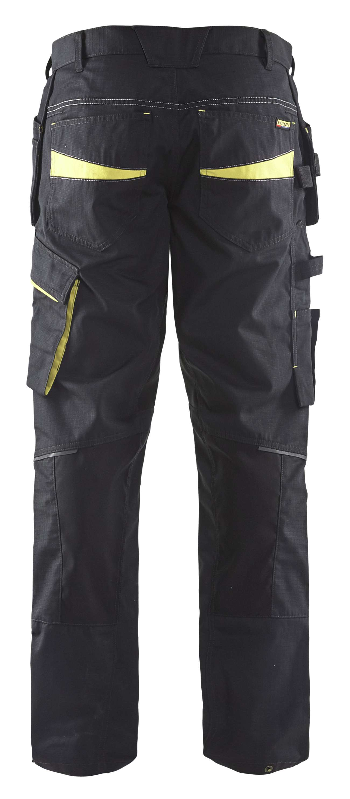 Blaklader Werkbroeken 14961330 met Stretch zwart-geel(9933)