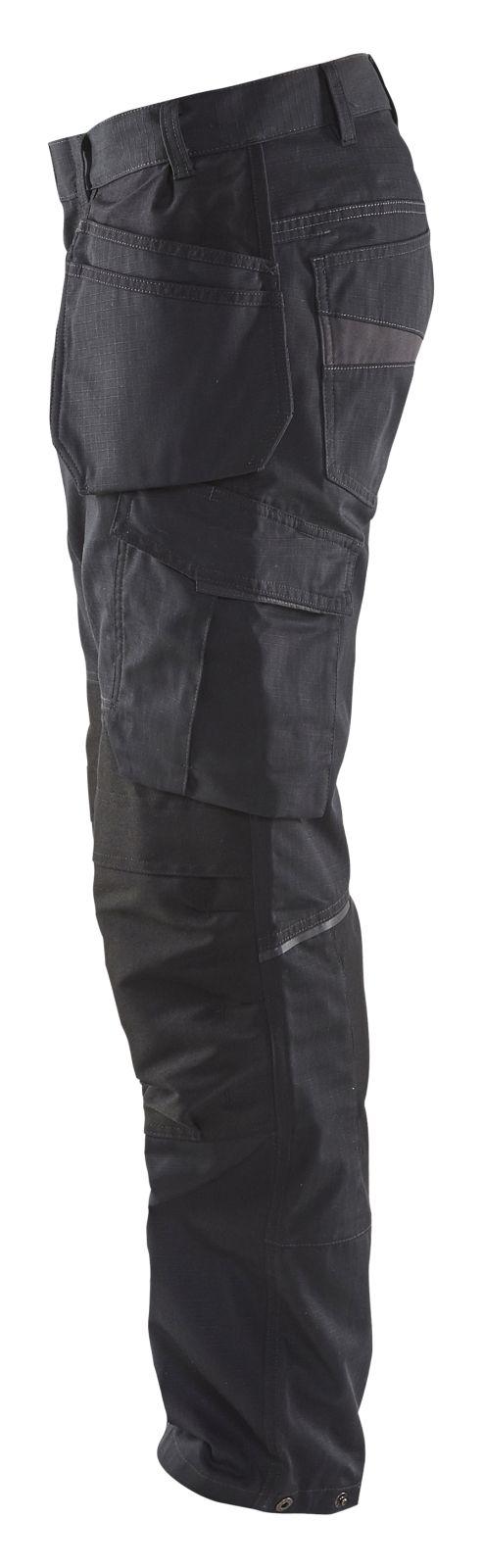 Blaklader Werkbroeken 14961330 met Stretch zwart-grijs(9998)