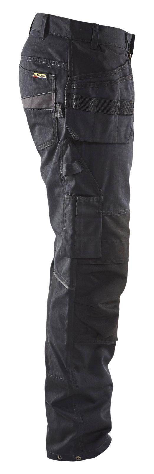 Blaklader Broeken 14961330 met Stretch zwart-grijs(9998)