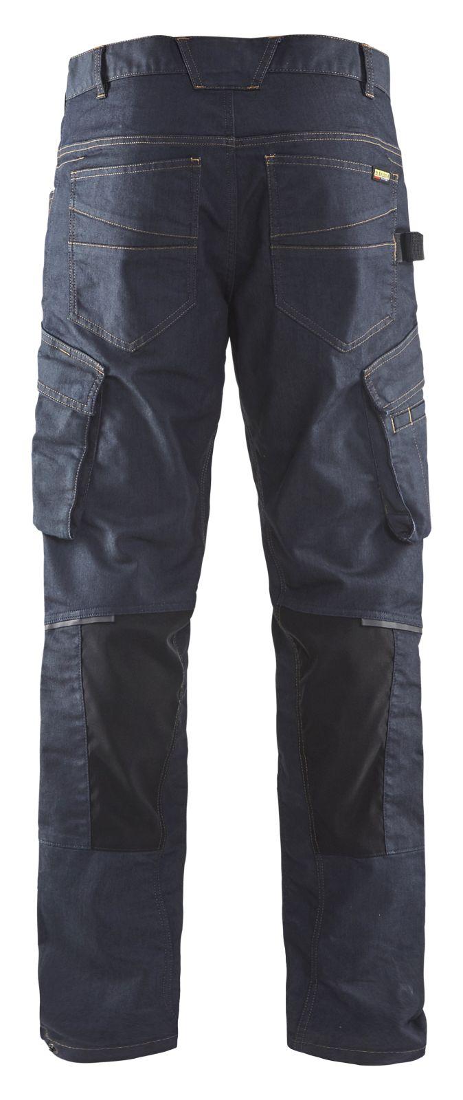 Blaklader Werkbroeken 14971141 marineblauw-zwart(8999)