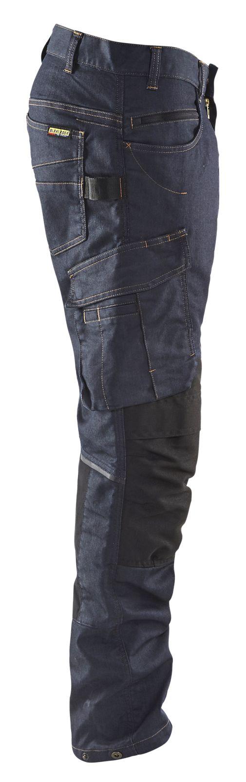 Blaklader Broeken 14971141 marineblauw-zwart(8999)