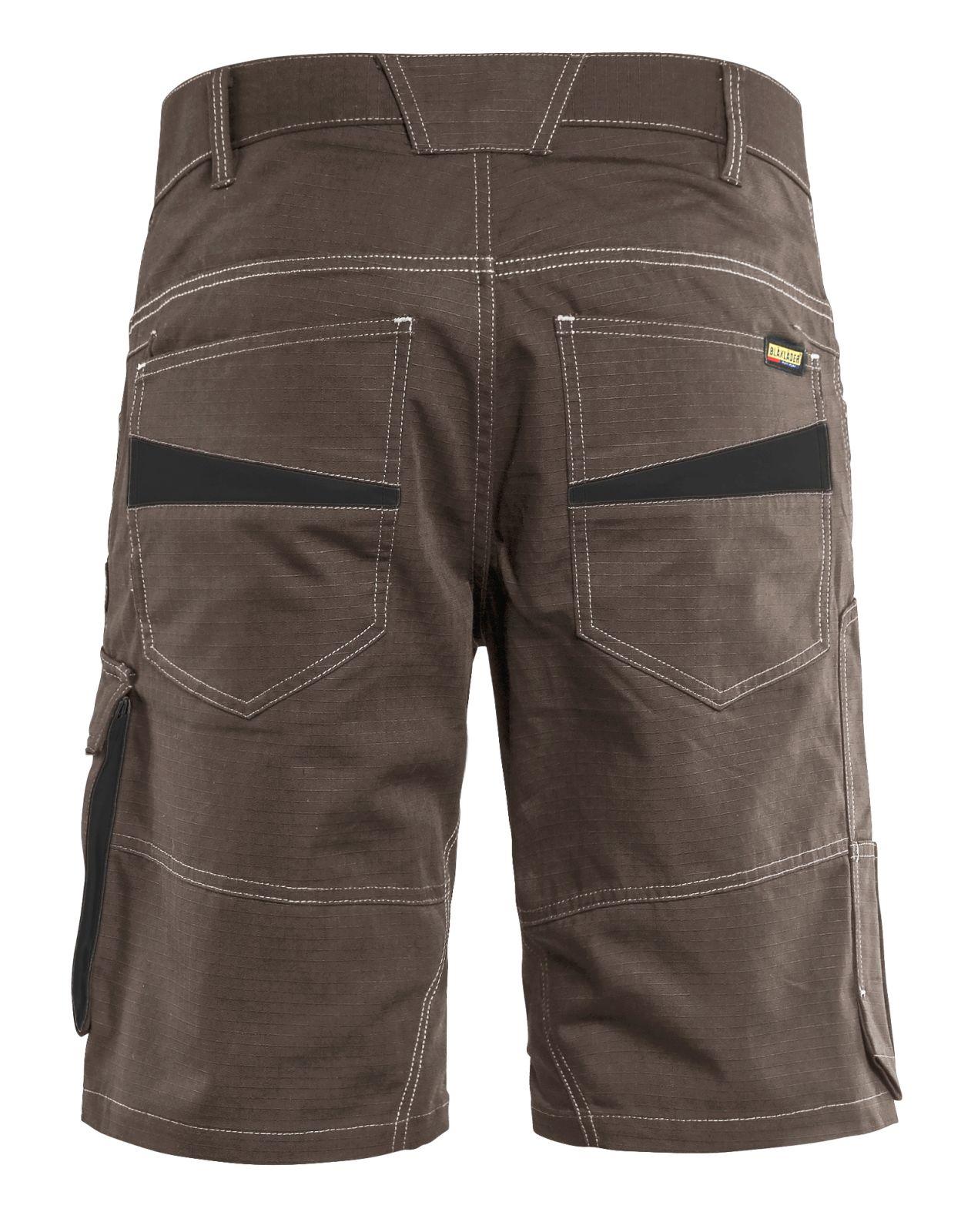 Blaklader Broeken 14991330 bruin-zwart(7899)