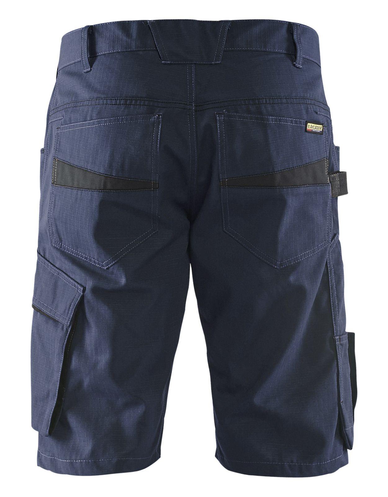 Blaklader Korte werkbroeken 14991330 donker marineblauw-zwart(8699)