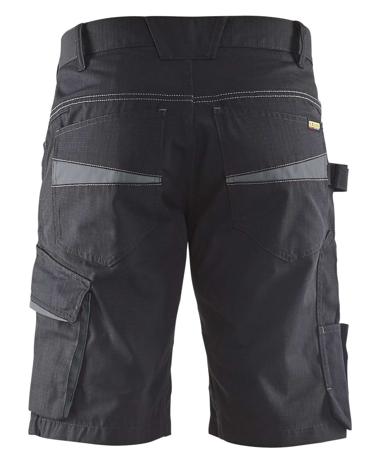Blaklader Korte werkbroeken 14991330 zwart-grijs(9998)