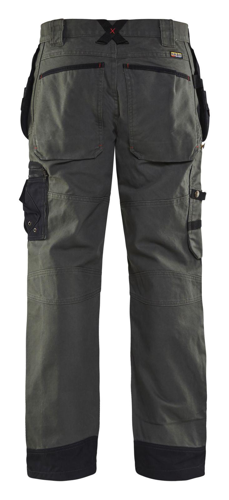 Blaklader Broeken 15001320 army groen-zwart(4699)