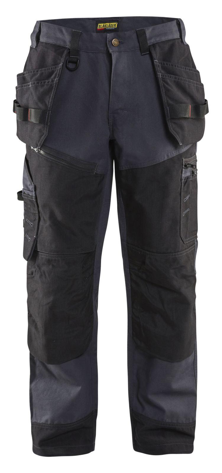 Blaklader Broeken 15001320 staalblauw-zwart(8399)