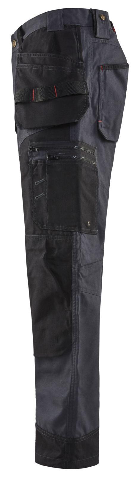 Blaklader Werkbroeken 15001320 staalblauw-zwart(8399)