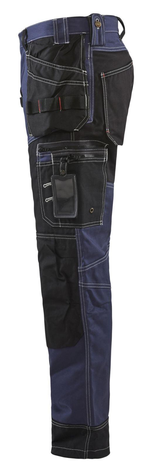 Blaklader Broeken 15001370 marineblauw-zwart(8899)
