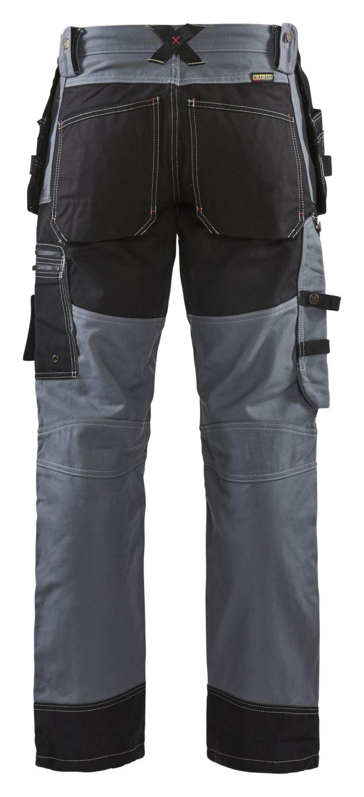 Blaklader Werkbroeken 15001370 grijs-zwart(9499)