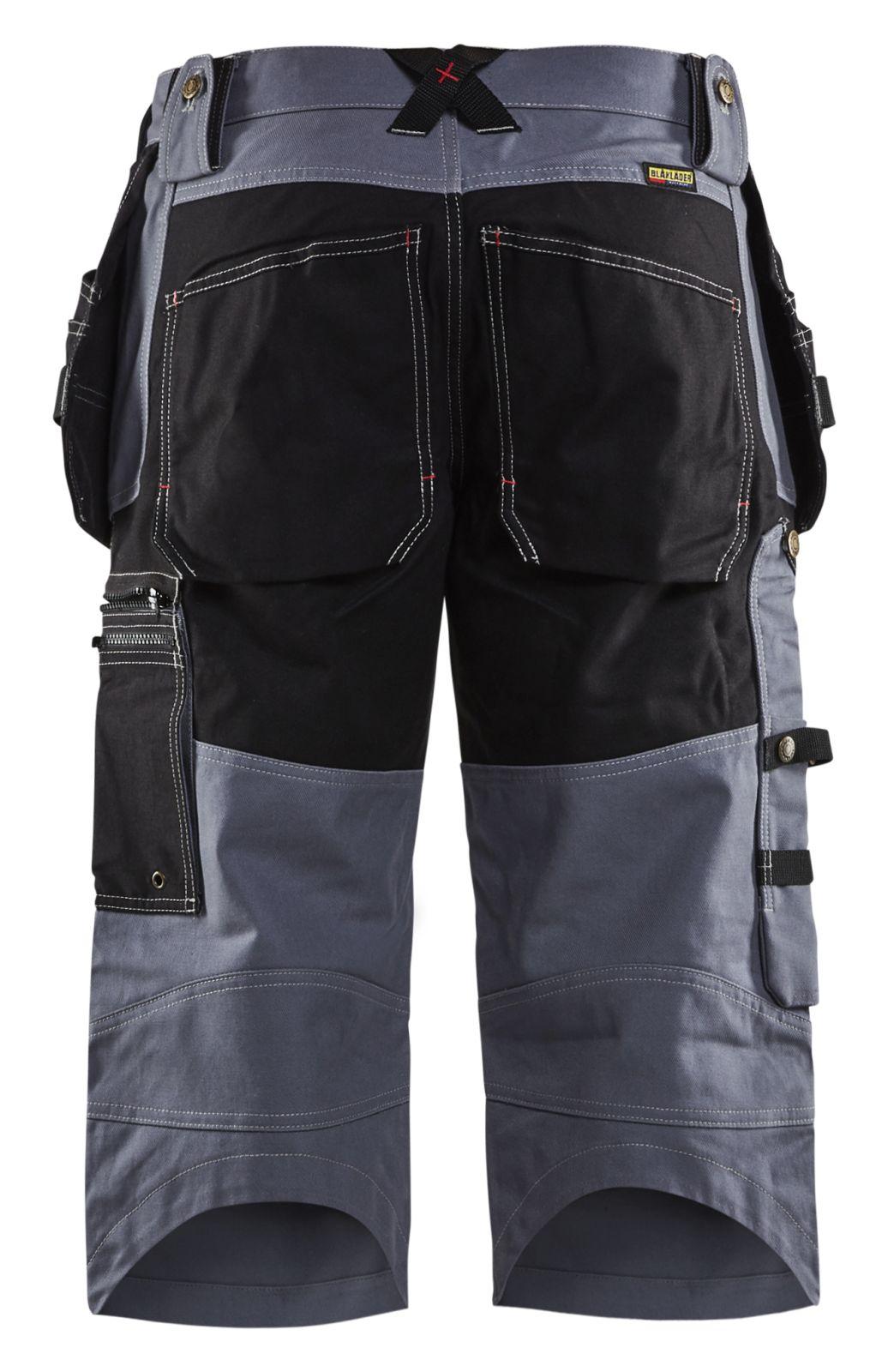 Blaklader Piraatbroeken 15011370 grijs-zwart(9499)