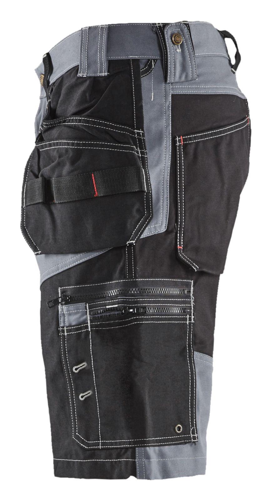 Blaklader Broeken 15021370 grijs-zwart(9499)