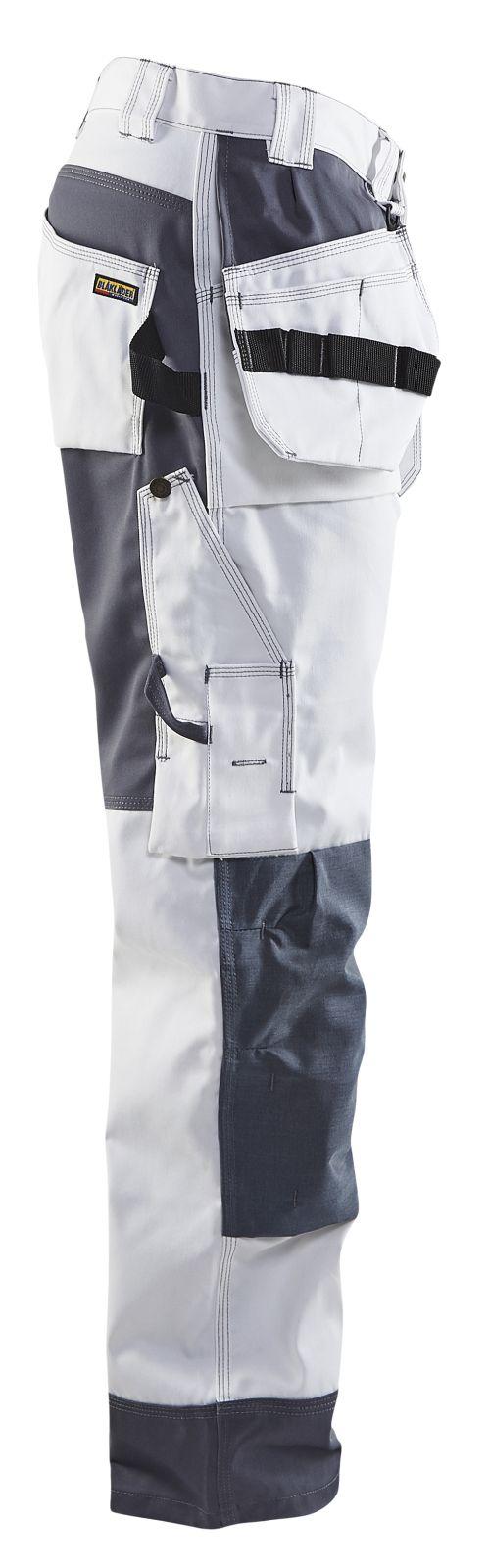 Blaklader Werkbroeken 15031860 wit-grijs(1094)