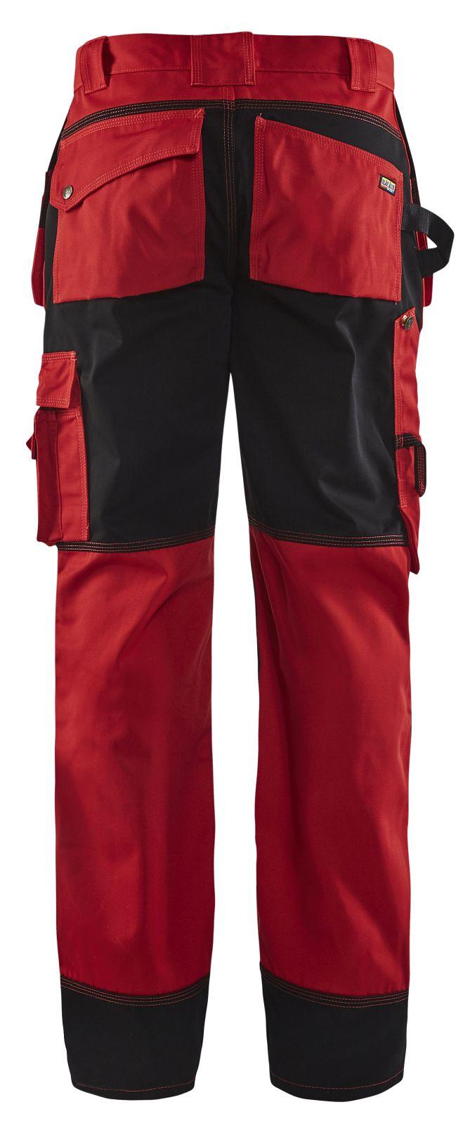 Blaklader Werkbroeken 15031860 rood-zwart(5699)