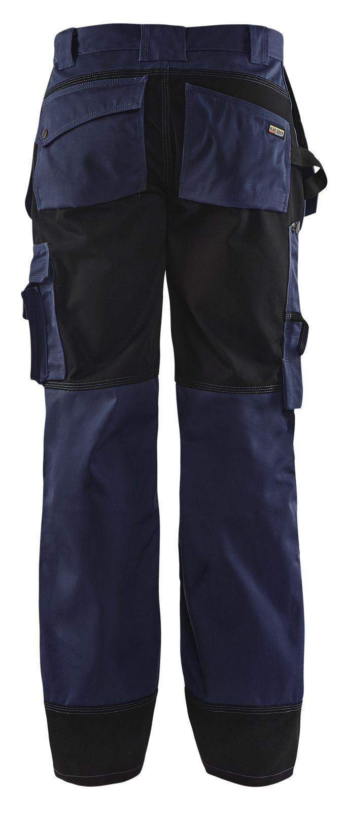 Blaklader Werkbroeken 15031860 marineblauw-zwart(8999)