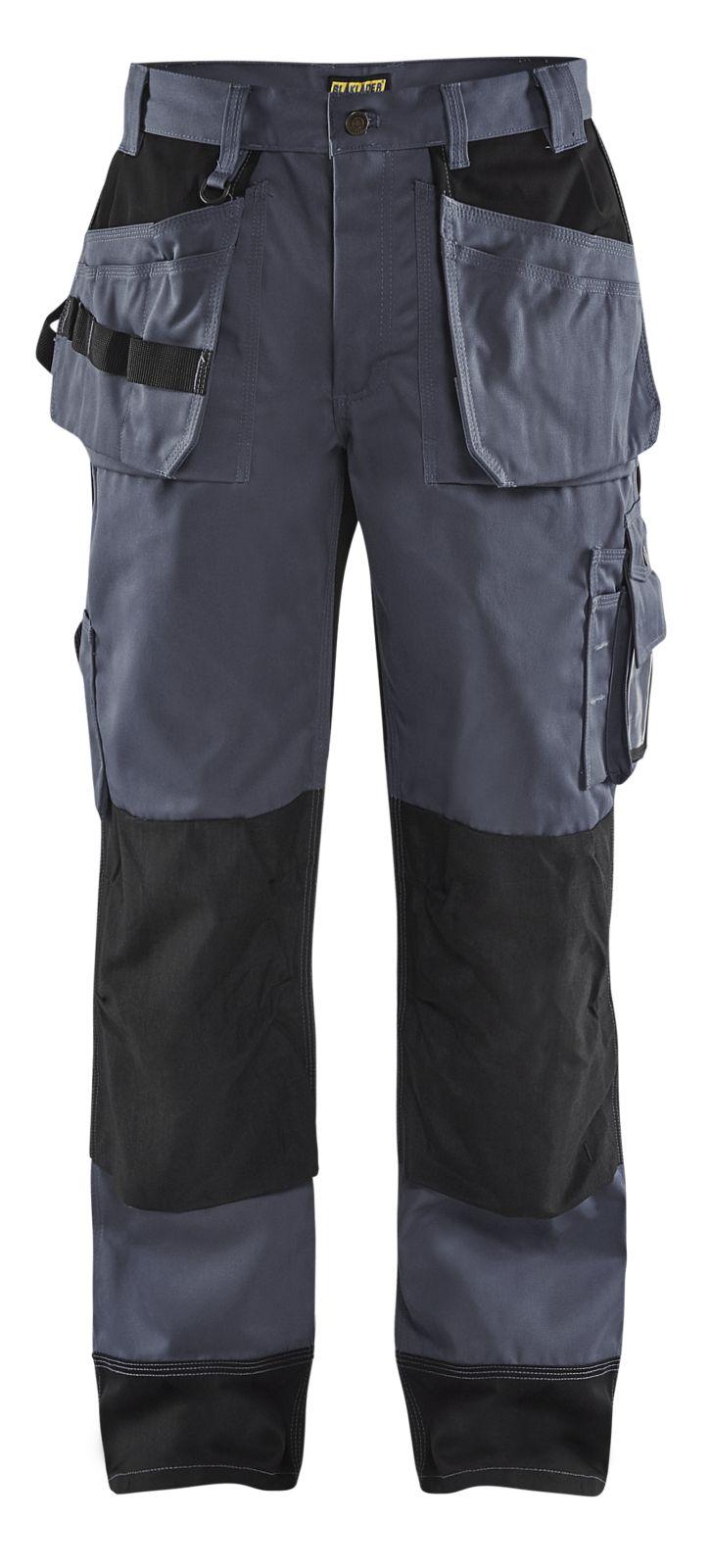 Blaklader Werkbroeken 15031860 grijs-zwart(9499)