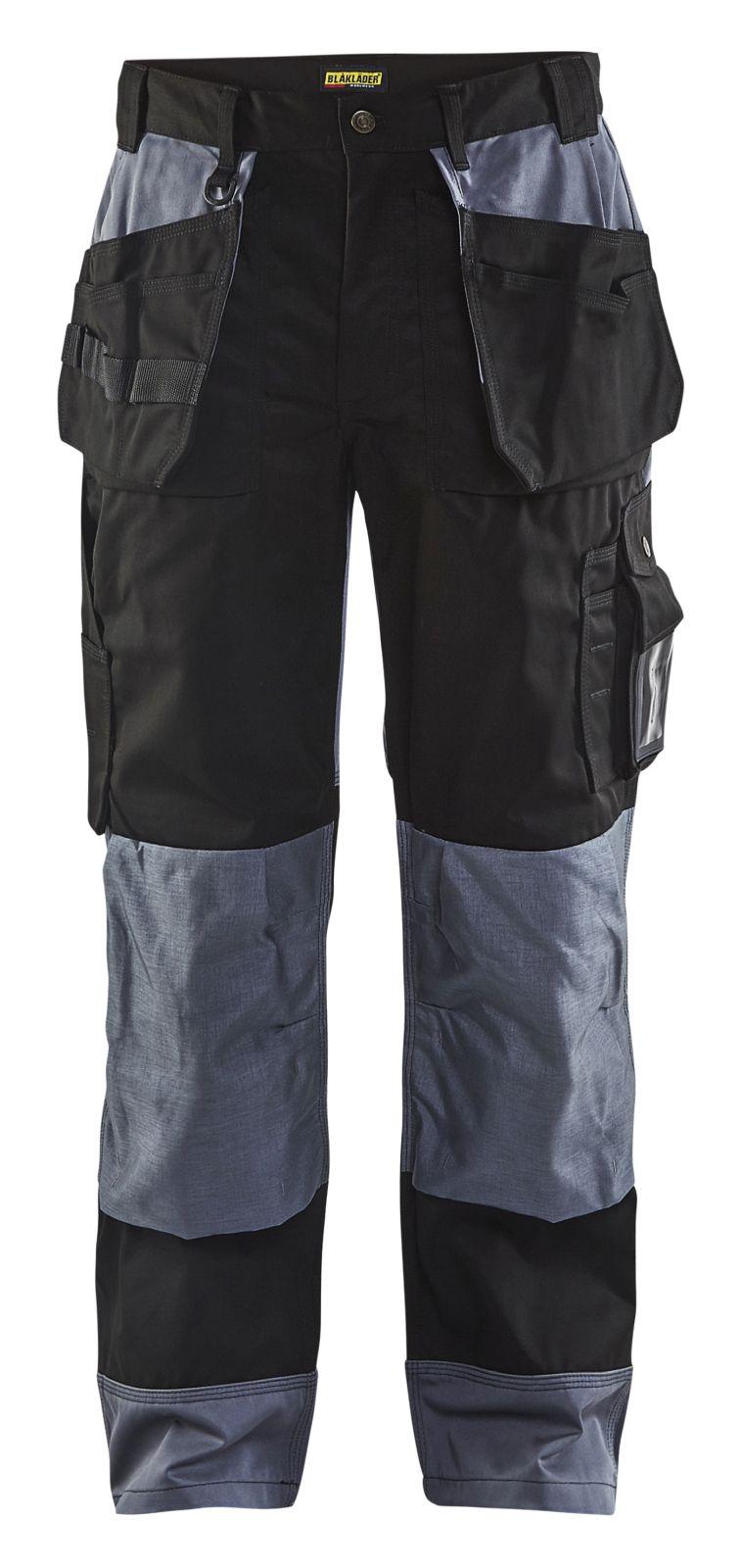 Blaklader Werkbroeken 15031860 zwart-grijs(9994)