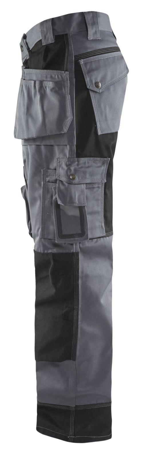 Blaklader Werkbroeken 15041860 grijs-zwart(9499)