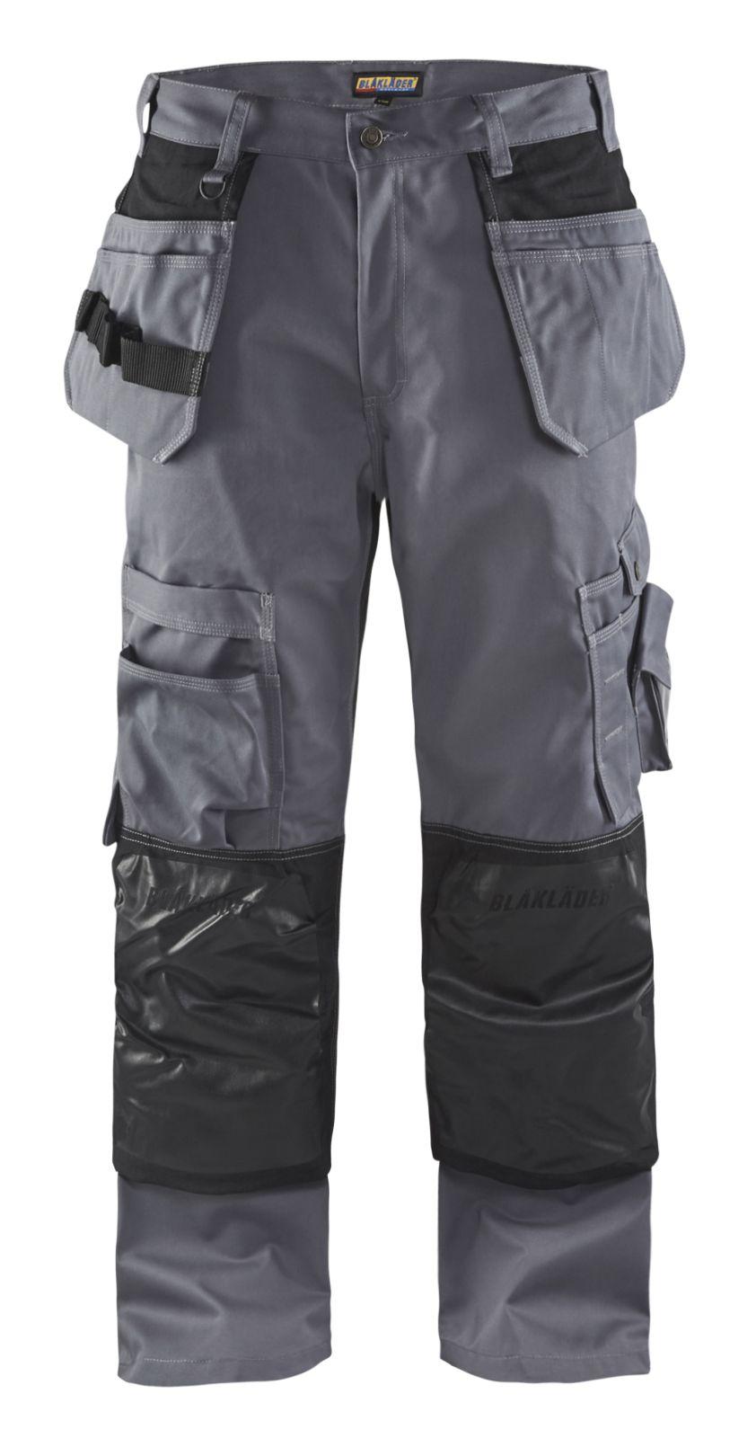 Blaklader Broeken 15051860 grijs-zwart(9499)