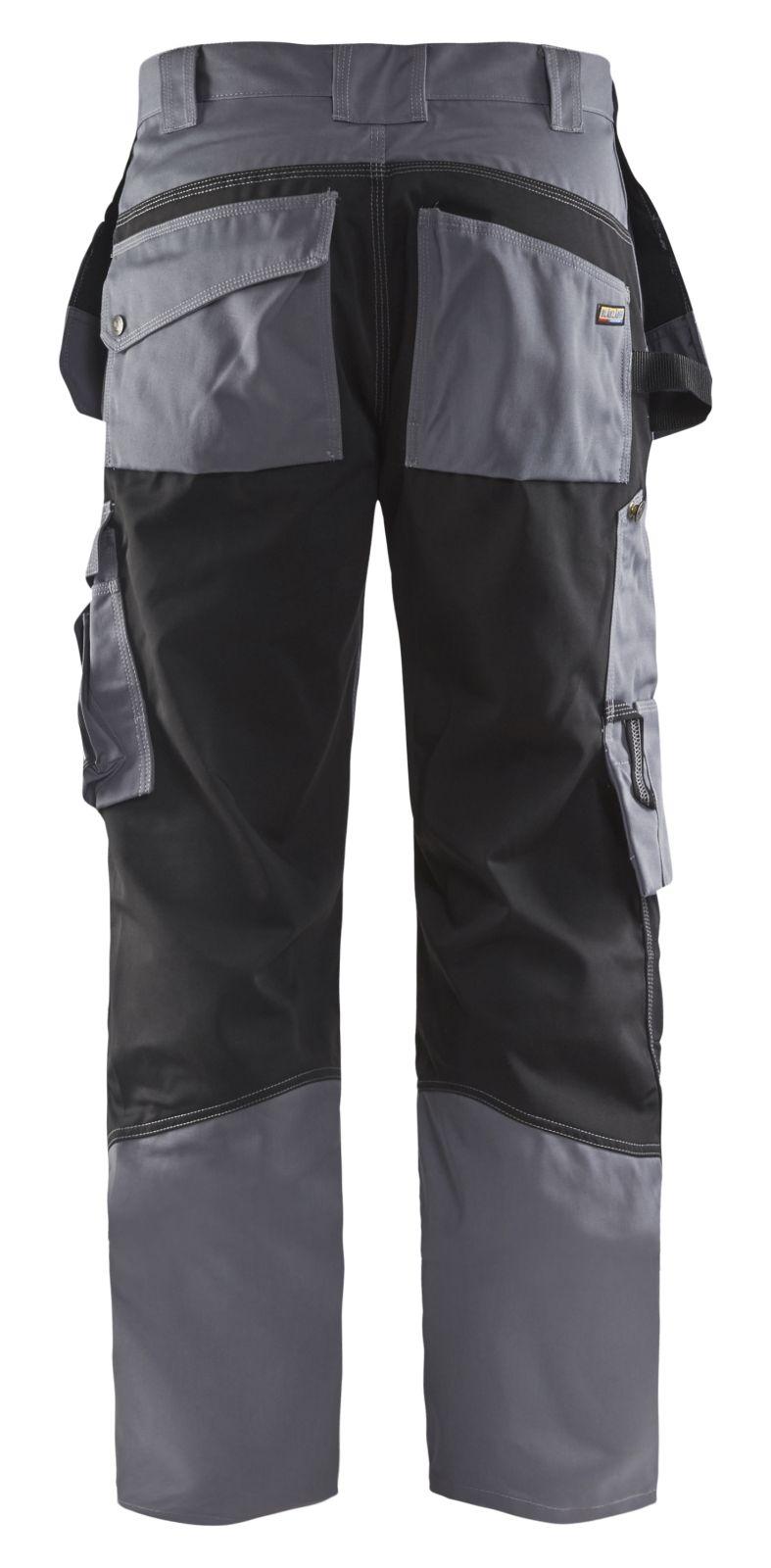 Blaklader Werkbroeken 15051860 grijs-zwart(9499)