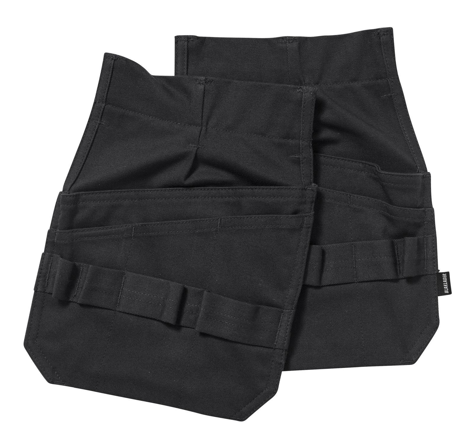 Blaklader Losse spijkerzakken 15161516 Vlamvertragend zwart(9900)