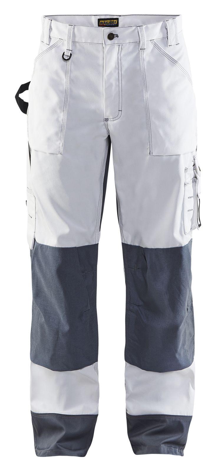 Blaklader Werkbroeken 15231860 wit-grijs(1094)