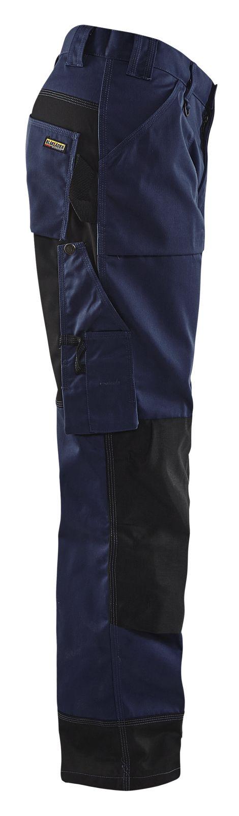 Blaklader Werkbroeken 15231860 marineblauw-zwart(8999)