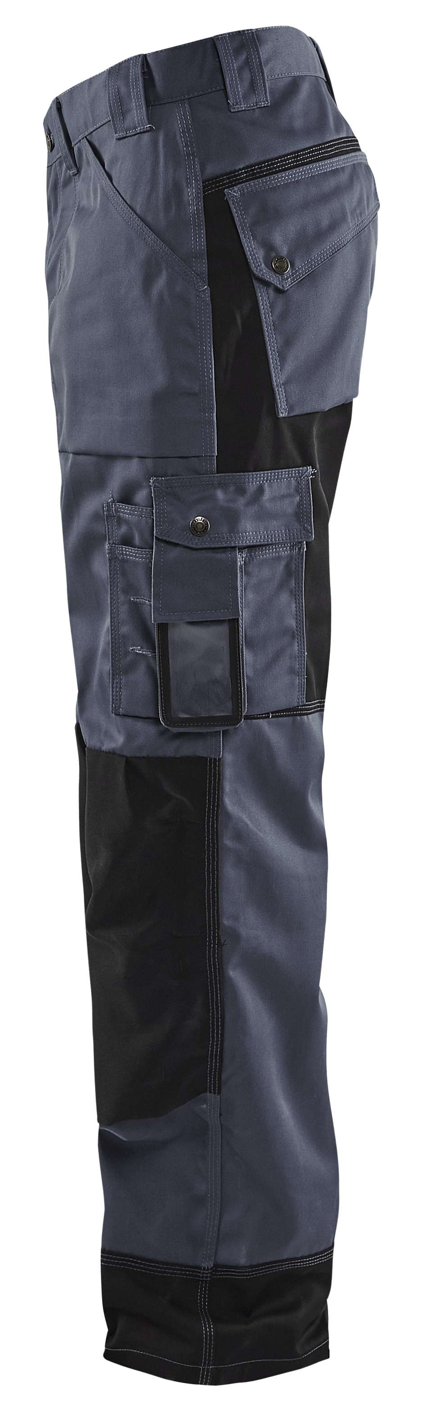 Blaklader Werkbroeken 15231860 grijs-zwart(9499)