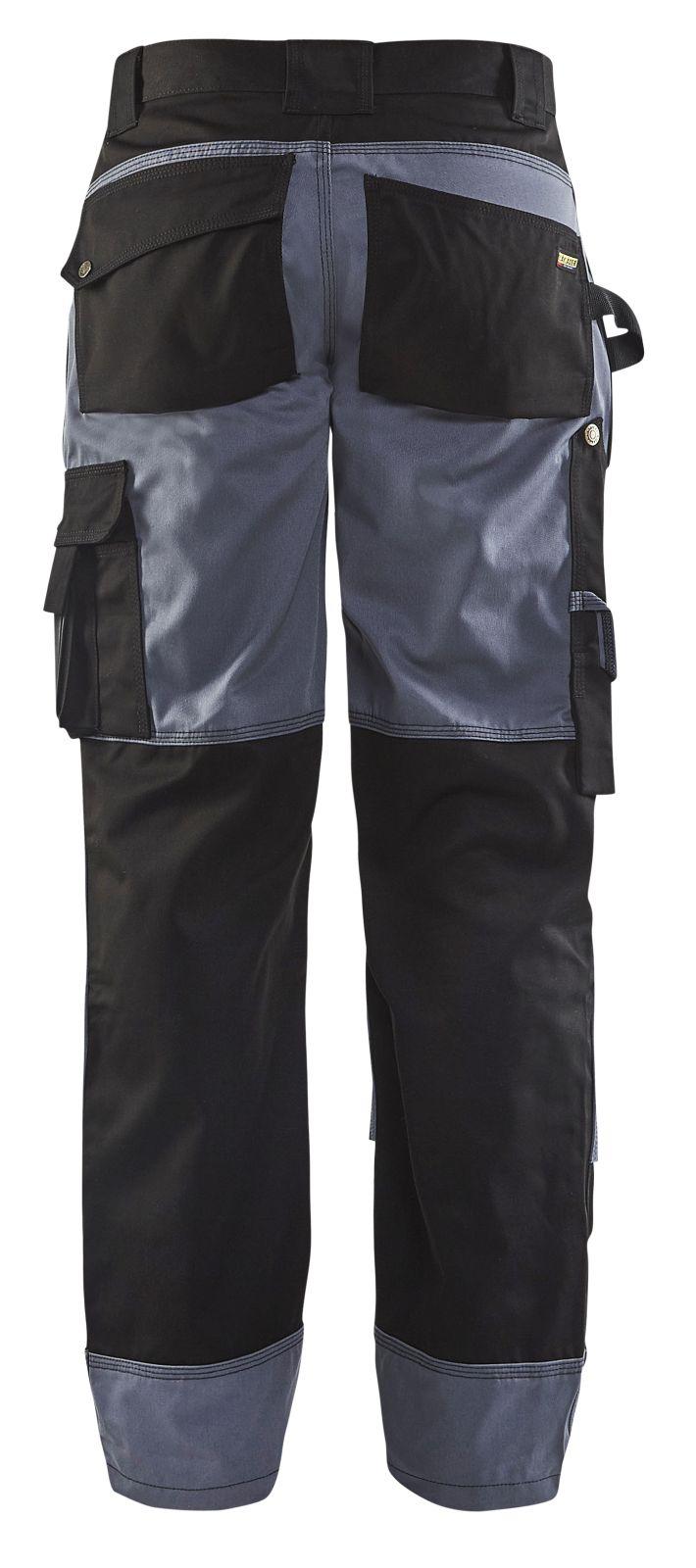 Blaklader Werkbroeken 15231860 zwart-grijs(9994)