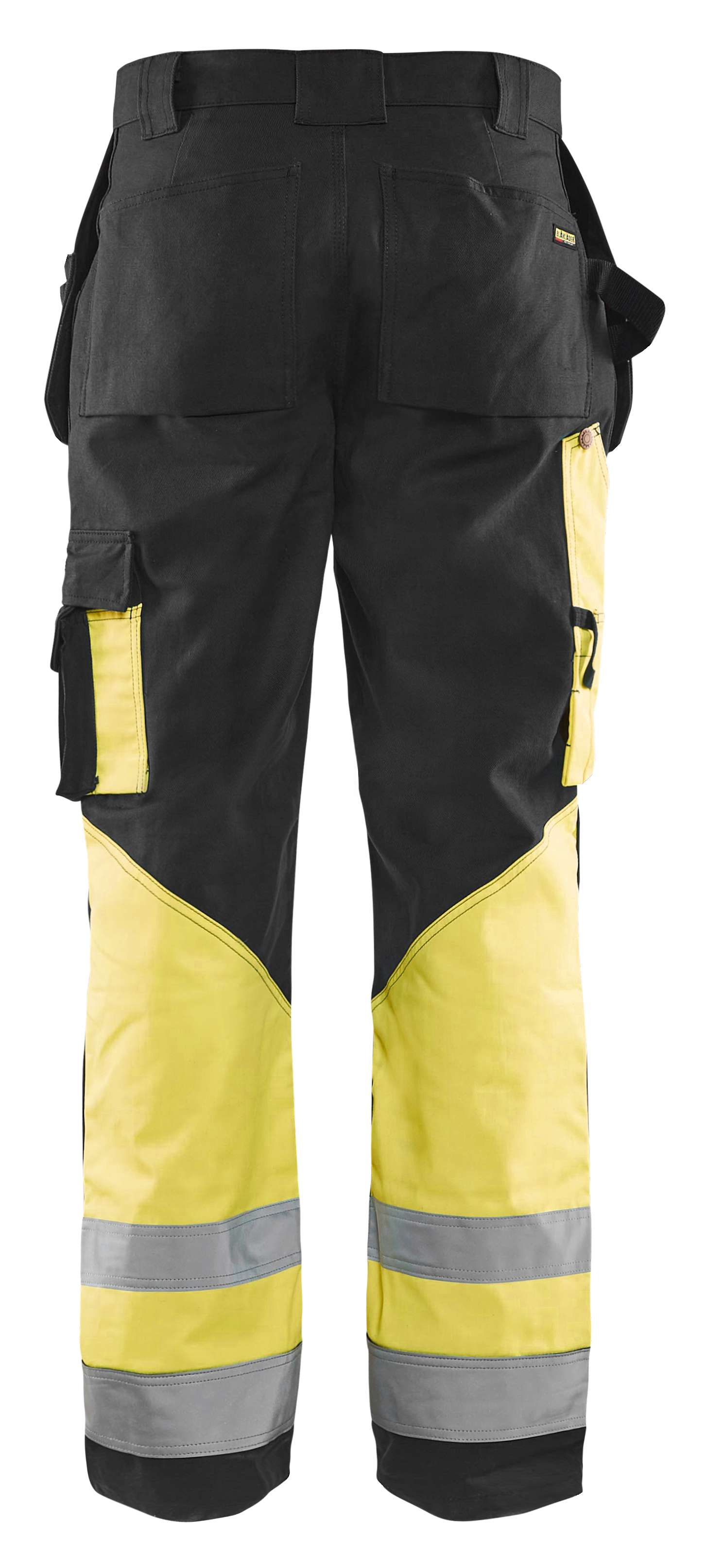 Blaklader Werkbroeken 15291370 High Vis zwart-geel(9933)