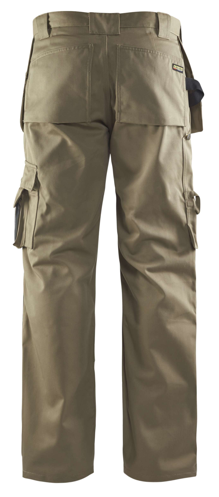 Blaklader Ambacht Werkbroeken- kniezakken- spijkerzakken 15301860 Polyester- katoen- Cordura khaki(2400)