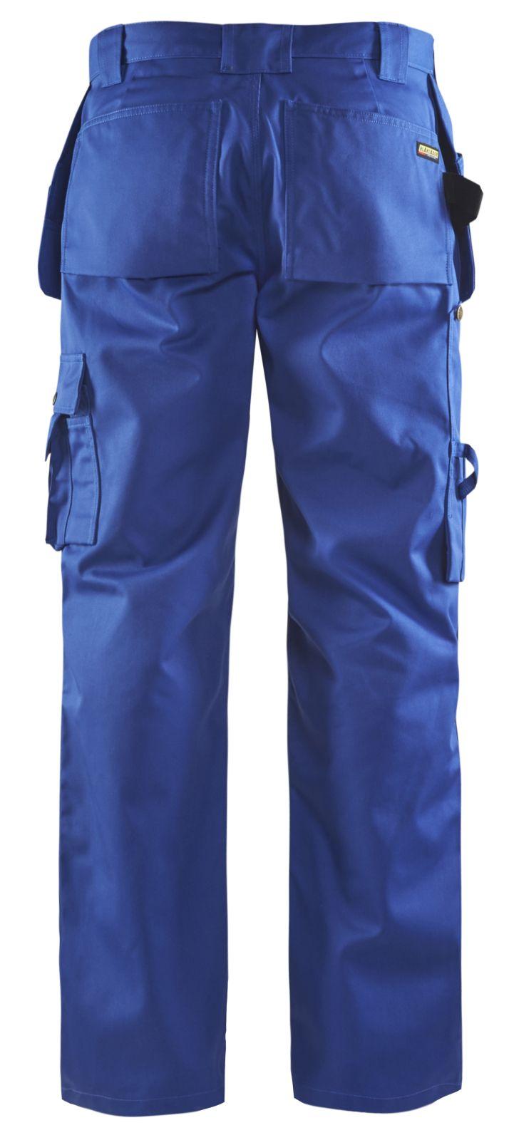 Blaklader Ambacht Werkbroeken- kniezakken- spijkerzakken 15301860 Polyester- katoen- Cordura kobaltblauw(8500)